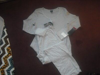Maternity NWT Oh Baby by Motherhood 2 pc Nursing Pajamas Size XL Retail $54.00