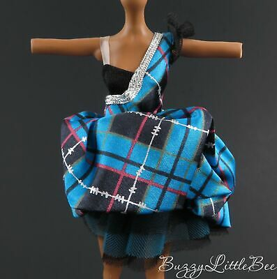 Monster High Doll~Frankie Stein~Sweet 1600~Poofy 80's Punk Style Dress