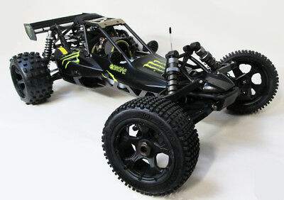 1/5 Baja Buggy 32cc 320A Rovan Knobby MXs Tuned Pipe Walbro Alloy Diff NEW Model