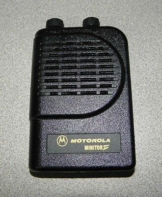 Motorola Minitor III Replacement Front Cover Housing Case