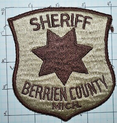 Michigan, Berrien County Sheriff Dept Patch