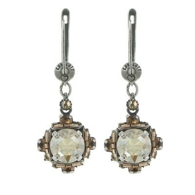 KONPLOTT Earrings Byzantine Beige Antique Silver