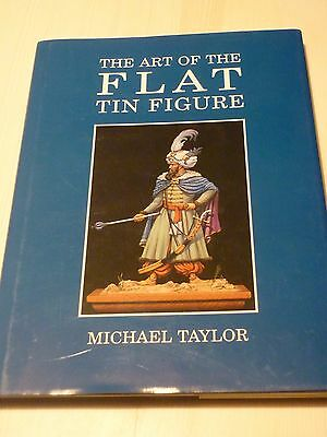 RARITÄT The Art OF Flat Tin FIGURE von Michael Taylor mit Signatur
