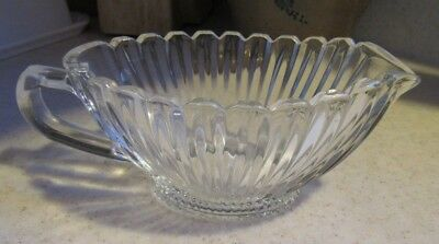 MIKASA Royal Suite Lead Crystal Sauce / Gravy Boat, Clear Glass