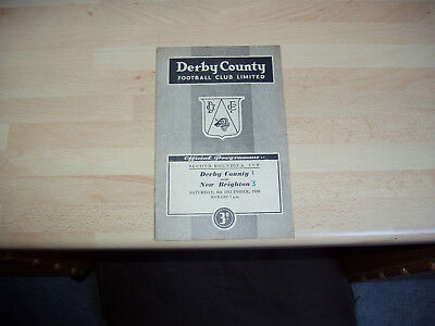 Derby v New Brighton FA Cup 2nd Rd 1956/7
