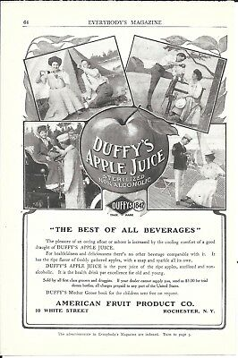 Old Duffy's Apple Juice The Best Of All Beverages Ad