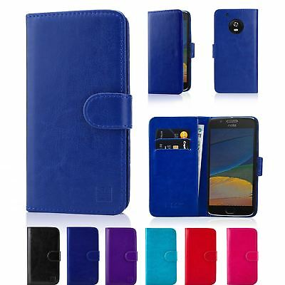 32nd Book Series – Synthetic Leather Flip Wallet Case Cover - Motorola Moto G5S