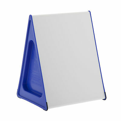 A3 Wedge Whiteboard Magnetic, Dry-Erase/Dry-Wipe, Double Sided, Writing Slope 75