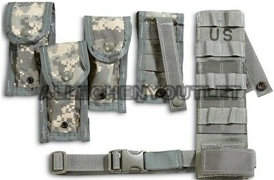 Us Army Military Surplus Acu Tactical Molle Pistolman Set 5 Pc