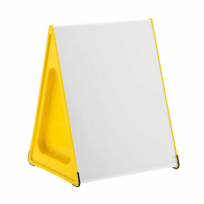 A3 Wedge Whiteboard Magnetic, Dry-Erase/Dry-Wipe, Double Sided, Writing OSYELLOW