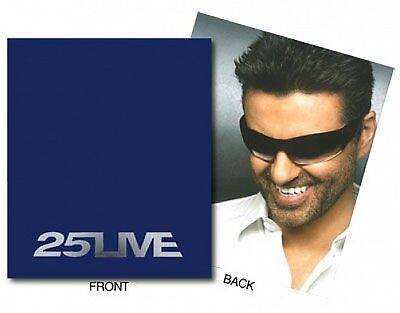 GEORGE MICHAEL 25 live tour 2006 EUROPE tour programme MASSIVE 44 pages USED S/H