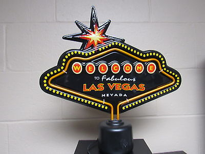Welcome Fabulous Las Vegas Man Cave Bar Game Room Lighted Electrical sign neon