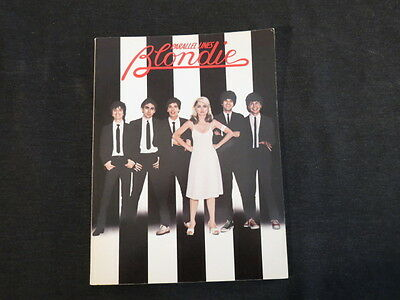 Parallel Lines Blondie Almo Publications 1979 Sheet Music Book