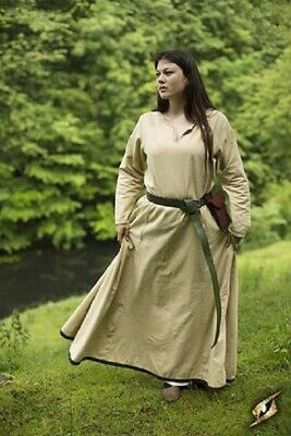 Medieval Simple Dress Renaissance Larp SCA Costume Ladies