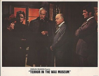Terror in the Wax Museum 1973 11x14 Lobby Card #7