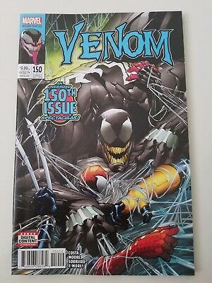 Venom #150 151 152 153 (2017) Lot Of 4! Marvel Comics 2Nd Print Giant-Sized Nm