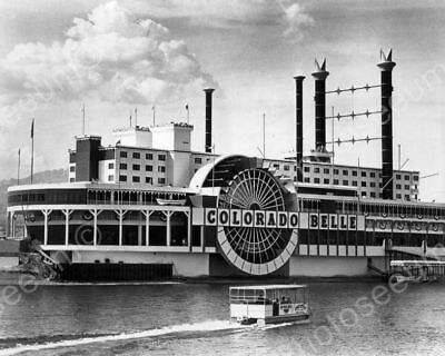 Colorado Belle Riverboat Gambling Ship Casino Classic 8 by 10 Reprint Photograph