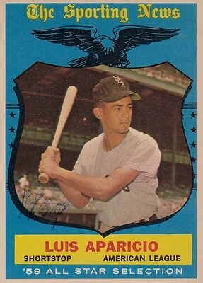 Topps 1959 #560 Luis Aparicio-Hall of Famer-Chicago White Sox-All Star