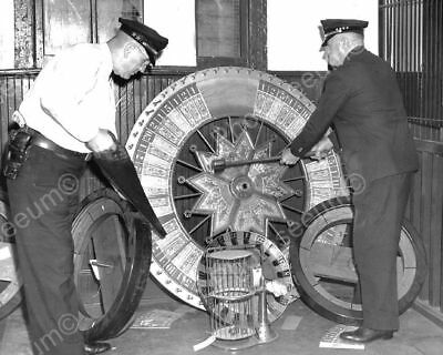 Gaming Wheel Of Chance Police Saw & Axe Goods Classic 8x10 Reprint Photograph