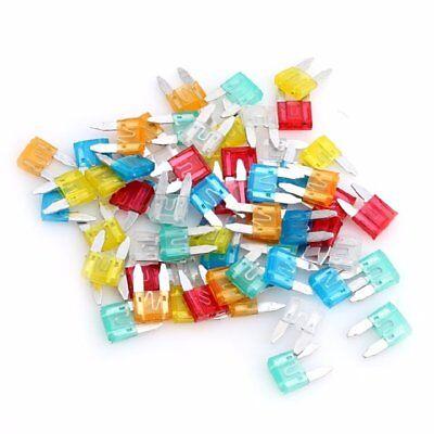 120pcs Mini Blade Fuse Assortment Set Auto Car Truck DG SUV Motorcycle Fuses Kit