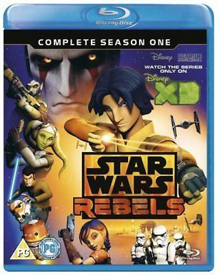 Star Wars Rebels Complete Season 1 Series One First Blu-ray Region B (2 Discs)