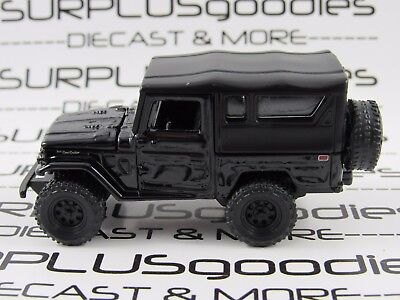 Johnny Lightning 1/64 LOOSE Collectible Black 1980 TOYOTA LAND CRUISER w/SoftTop
