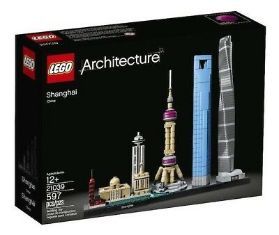 LEGO Architecture Shanghai China 21039 Skyline Collection Building Model NEW