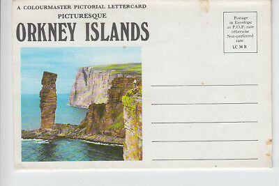 Pictorial Lettercard of the Orkney Islands