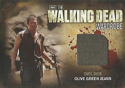 "Walking Dead Season 2 - M27 ""Daryl Dixon's Olive Green Jeans"" Wardrobe Card"
