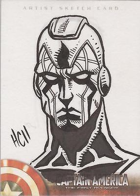 Captain America The First Avenger Movie - Hamilton Cline Sketch Card