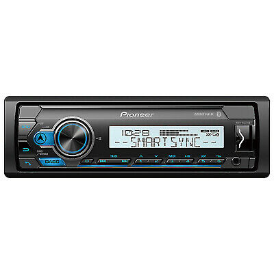 Kenwood KMR-M318BT Marine Media Digital Receiver Bluetooth USB AUX iPhone Androi