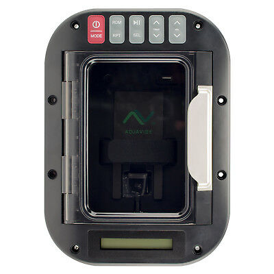 Magnadyne Aquavibe MD150 LED Bluetooth Waterproof Marine Stereo Device Locker