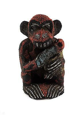 Bamileke Beaded Monkey Maternity Cameroon Africa Art