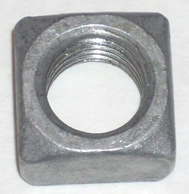 Hubbell Chance 055085 Regular 3/4-10-UNC Square Nut 771-10UNS Galvaniz 250pc Box
