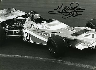 photo 15 par 21 cm Jean Pierre Beltoise Matra F1