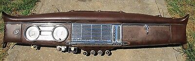 1948-49-50 PACKARD  Complete Dash Assembly With Wiring Harness Gauges Radio ETC
