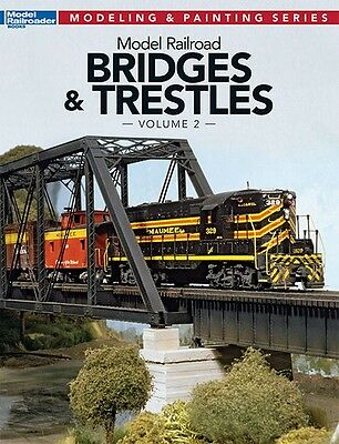 Kalmbach Book Model Railroad Bridges & Trestles Volume 2