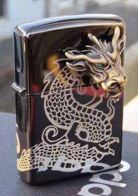 Collectable Zippo - Dragon 3D Lighter - New Never Been Used. Mint Condition!!!