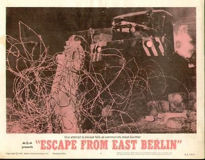 Escape From East Berlin 11x14 Lobby Card #8