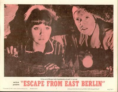 Escape From East Berlin 11x14 Lobby Card #5