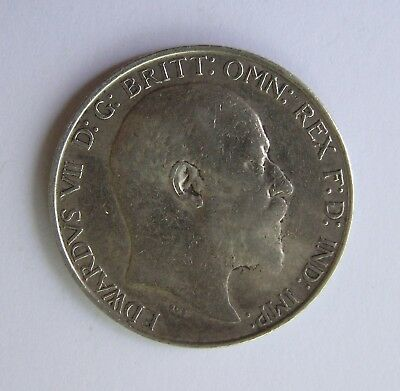 Great Britain Silver Florin 1910 Edward VII