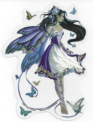 Violet melody fairy sticker car decal nene thomas faerie faery butterflies