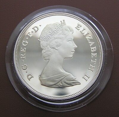 Great Britain Silver Crown 1981  Wedding of Prince Charles and Lady Diana