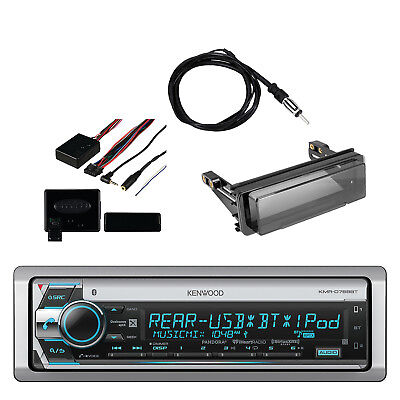 Kenwood Marine CD Receiver with Built in Bluetooth, Wheel Control, Kit & Antenna