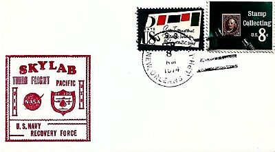 UNITED STATES - 1973 Skylab Third Flight US Navy Recovery Force Cover
