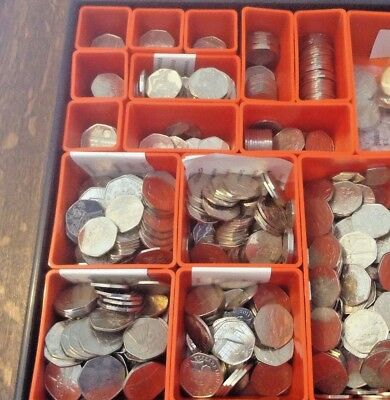 2011/12 OLYMPIC 50p pence COINS Incl RARE Judo, Triathlon, Football etc - CHEAP!
