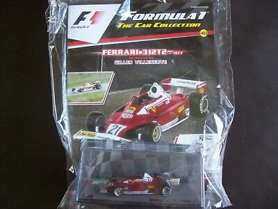 Formula 1 The Car Collection Part 48 Ferrari 312T2 1977 Gilles Villeneuve