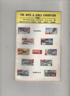 Boys & Girls Exhibition Brochure 1961 Olympia Eagle Comic Swift  Scarce