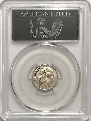 2017 S Enhanced Roosevelt Dime Pcgs Sp70 Fb First Day Of Issue Denver Liberty Lb
