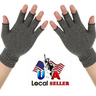 New Compression Gloves Arthritis Pain Relief Swollen Stiffness Circulation Brace